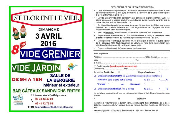 Vide grenier vide jardin int rieur et ext rieur 2016 for Vide jardin 2016 la garnache