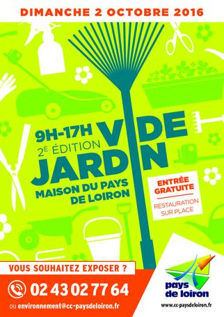 Vide jardin du pays de loiron 2016 loiron ruill pays for Vide jardin 2016 la garnache
